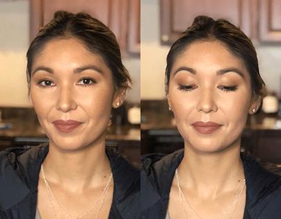Stephanie - Bridal party makeup