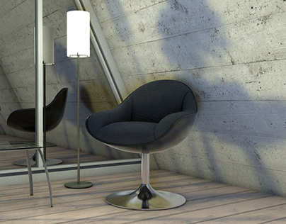 3D Modeling | Chair