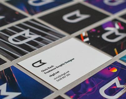 Silver Foil Business Cards 2020