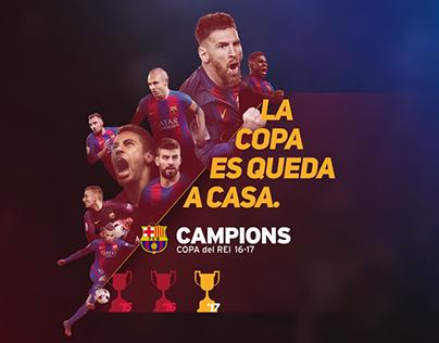 FC Barcelona - Final Copa del Rey 2017