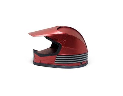 Helmet - handmade cardboard model