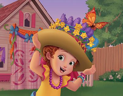 """Fancy Nancy """"Easter Bonnet Bug-A-Boo"""""""