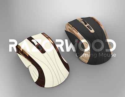 "(ID) ""Razorwood"" Alternative Gaming Mouse"