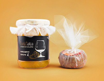Packaging & Branding of tangerine jam