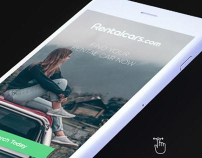 Rentalcars Digital Concept