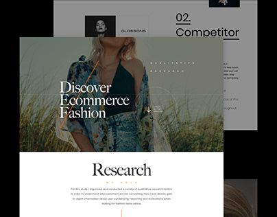 UX Research: Fashion case study