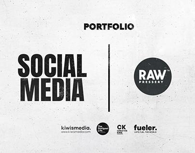RAW Pressery™ Social Media