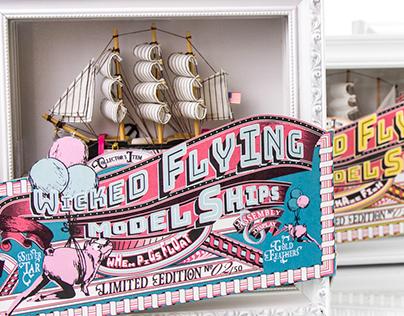 Wicked Flying Model Ships