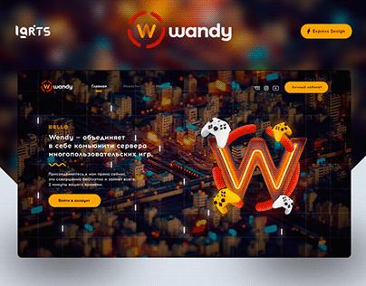 Wandy — Game Community CSGO/Minecraft