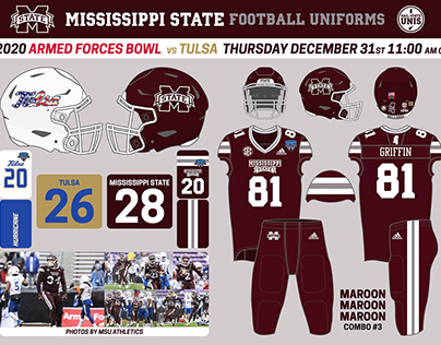 2020 Mississippi State Football Graphics