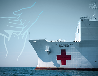USNS Comfort mission in Colombia Branding