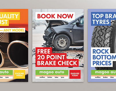 Magoo Auto — Workshop posters
