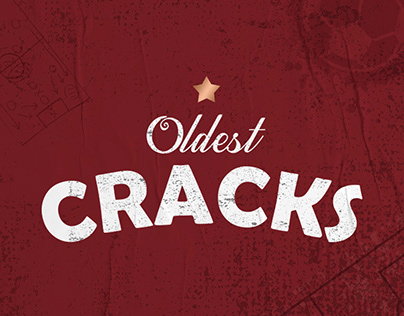 Oldest Cracks - T-shirt Design & Social Media