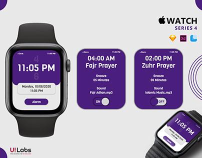 Apple Watch Series 4 | Clock