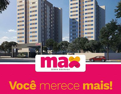 Lançamento Max Serra Dourada