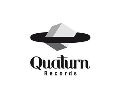 """Corporate design // """"Quaturn Records"""""""