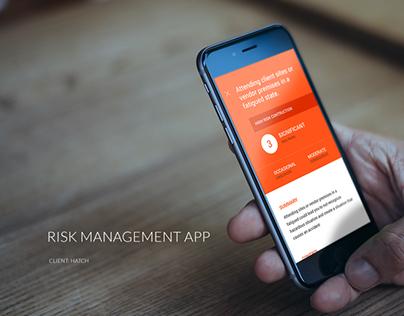 Risk Management App