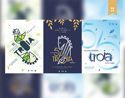 56th international festival Posters