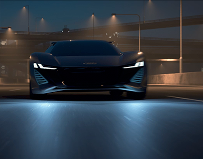 Going Home - Audi PB18 Animation & Stills