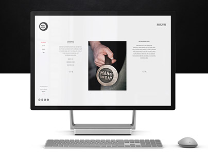 Website Redesign - Man of the day