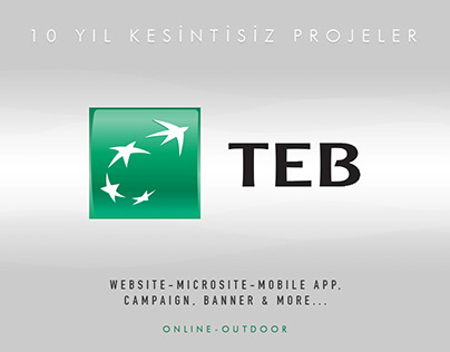 TEB Paribas Corporate and Int. Banking Design 2008-2015