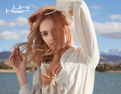 UniHair-Hair Salon Brand   Web Design