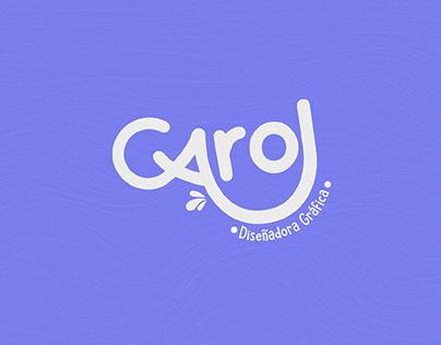 Portafolio Diseño Gráfico - Carol