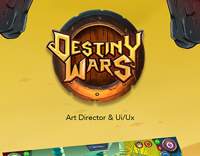 Art Director Ui/Ux Destiny Wars