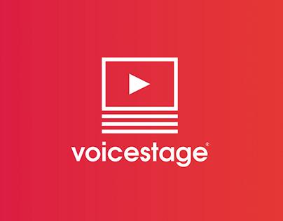Voice Stage Logo Design