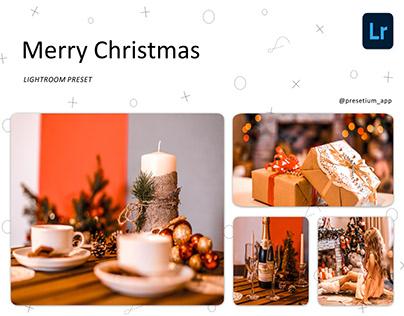Merry Christmas - Free Lightroom Presets Everyday