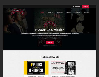 Hooah Inc. // Web Design