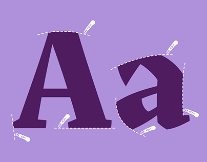 Akut, an exploration on angular typography.
