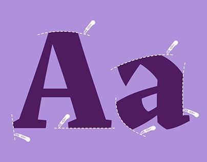 Akut, an exploration on angular typography.