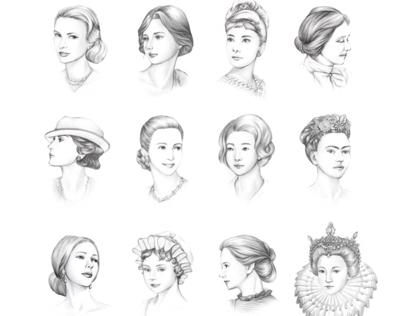 Beautiful women_2016 calendar