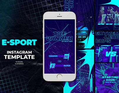 E-Sport Instagram Templates