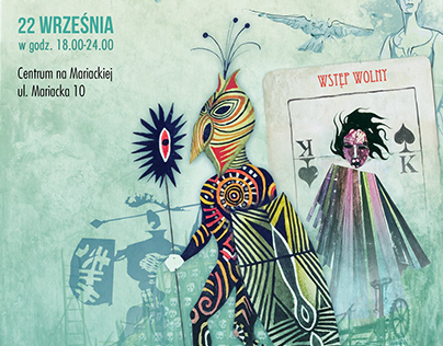 Graphic design works for Polish Center of Scenography