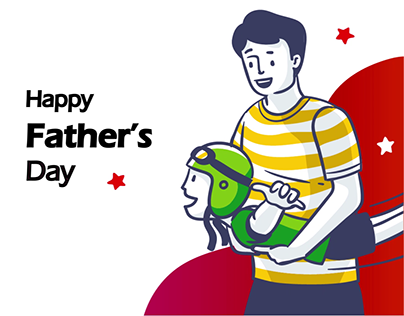Father Day Animation for Social Media