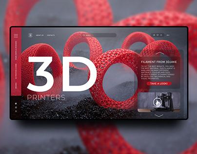 Prototype. 3d printers, printing