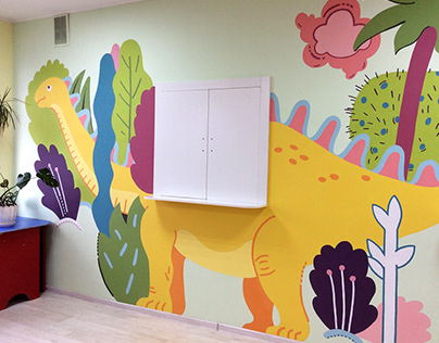 Painting at the Regional Children's Hospital
