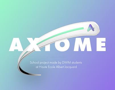 Axiome | UX Design - School project