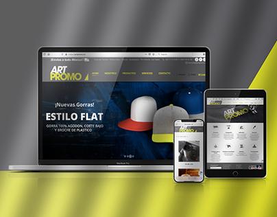 Diseño web ArtPromo