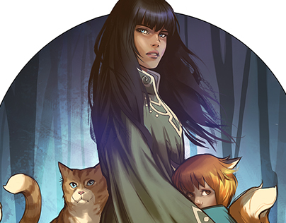 Monstress // Comic Book Illustration