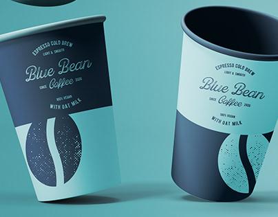 Blue Bean Coffee - Branding