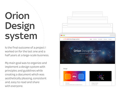 Orion Design system