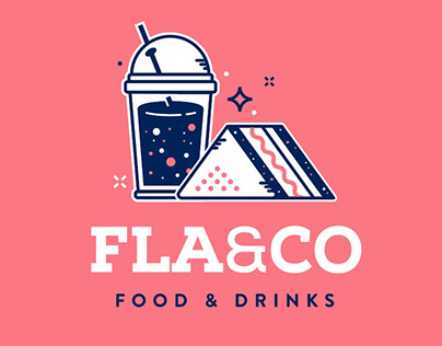 FLA & CO / FOOD & DRINKS BRANDING
