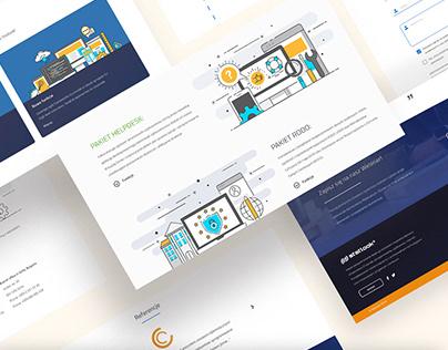 Statlook Website - Design & Development