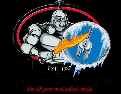 Spartan Plumbing Heating & Cooling Logo