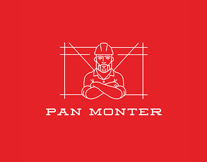 PAN MONTER - logo, branding, web design