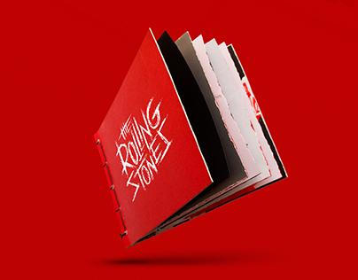 Rolling Stones - Calligraphy