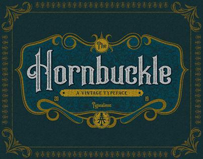 Hornbuckle Vintage Typeface